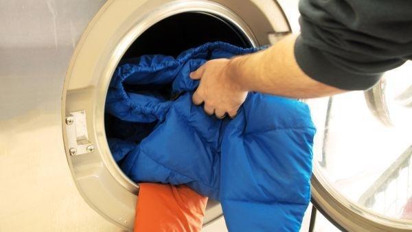 giặt áo lông vũ, mẹo hay giặt áo lông vũ bền lâu
