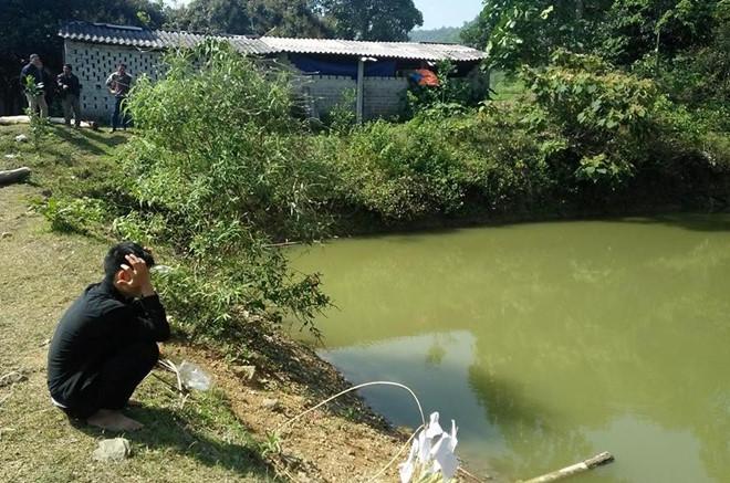 xót xa 3 đứa trẻ đuối nước ở ao nước nhà bà