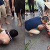 người đàn ông bị đánh vì nghi bắt cóc trẻ con