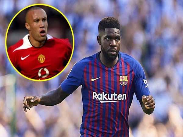 Mikael Silvestre tin rằng Umtiti không phải là lựa chọn phù hợp với Man Utd.