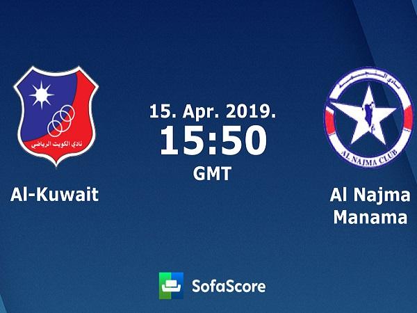 Soi kèo Al Kuwait vs Al Najma, 22h50 ngày 15/04