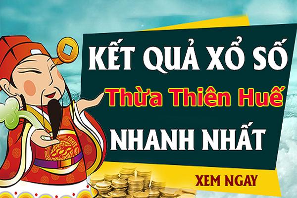 Soi cầu XS Thừa Thiên Huế chính xác thứ 2 ngày 22/07/2019