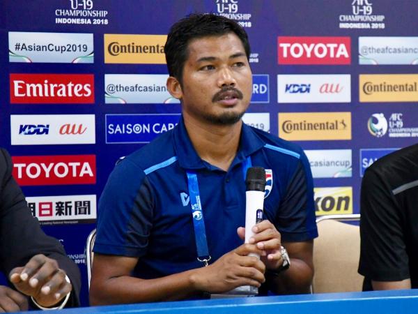 HLV U19 Thái Lan quyết giành chiến thắng trước U19 Việt Nam