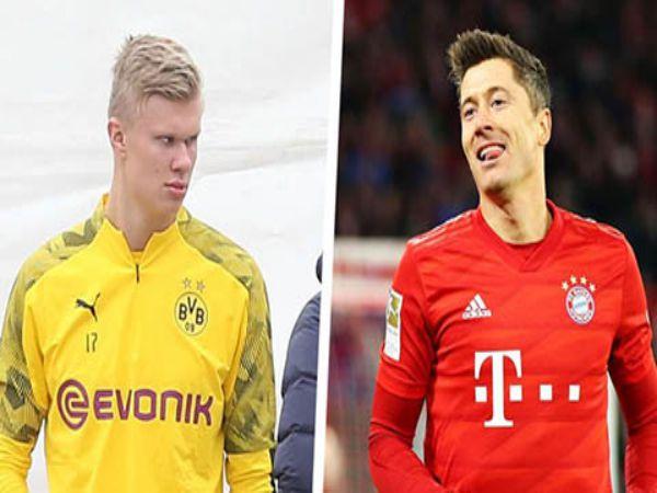 Lewandowski khuyên Haaland nên ở lại Bundesliga trước đại chiến