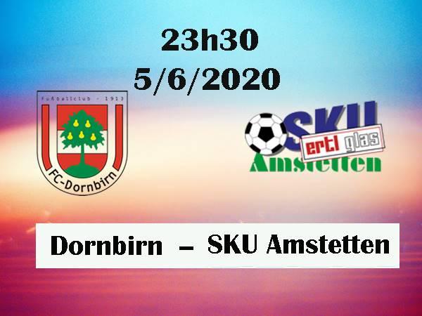 Nhận định Dornbirn vs SKU Amstetten, 23h30 ngày 5/6