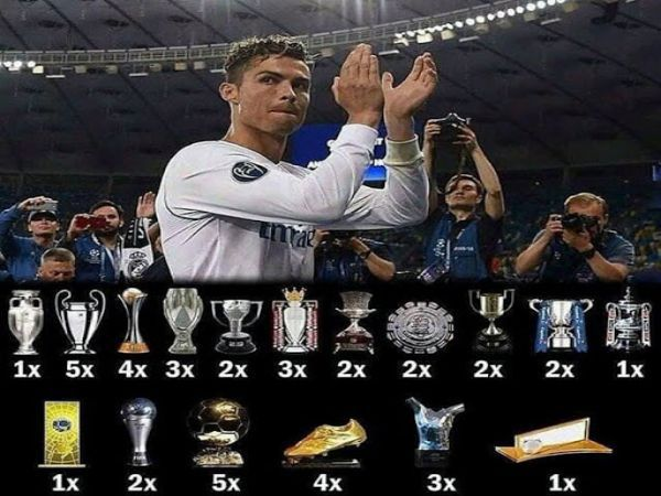 Ronaldo đánh mất bản năng chinh phục danh hiệu