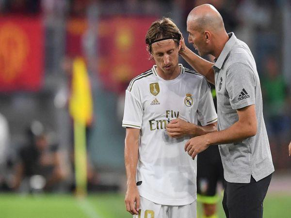 Modric kế thừa Zidane dẫn dắt Real Madrid