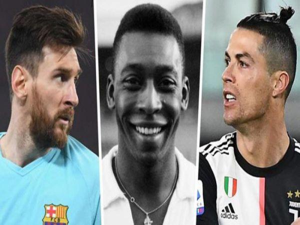 Cả Ronaldo và Messi cộng lại mới bằng Pele