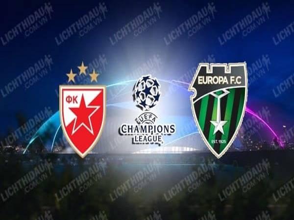 Nhận định Crvena Zvezda vs Europa 02h00, 19/08 - Champions League