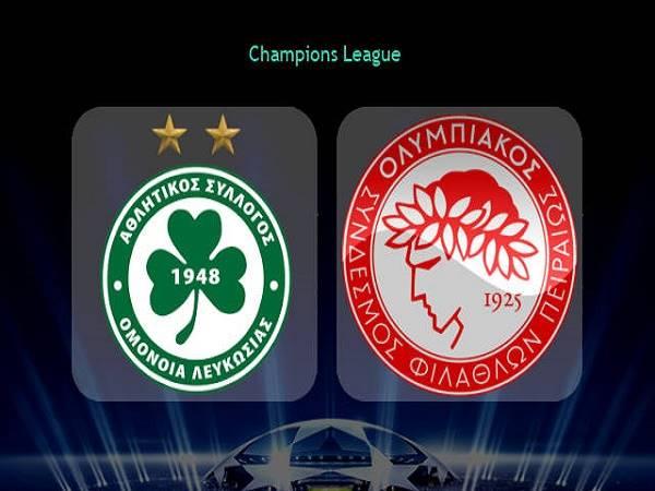 Soi kèo Omonia Nicosia vs Olympiacos 02h00, 30/09 - Cúp C1 Châu Âu