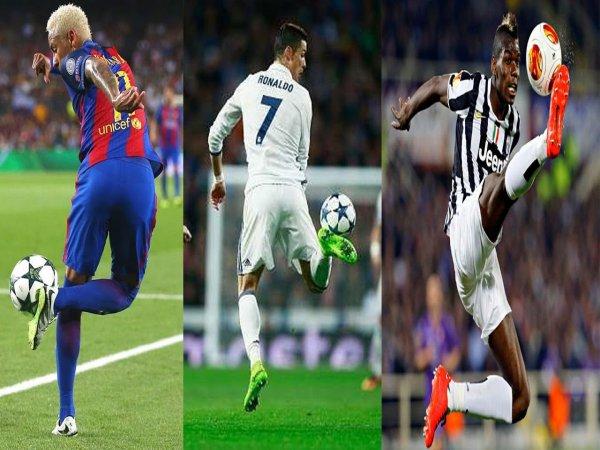 Hướng dẫn cách khống chế bóng cơ bản trong bóng đá