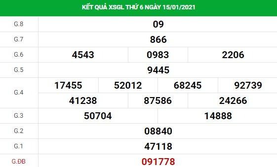 Soi cầu dự đoán XS Gia Lai Vip ngày 22/01/2020