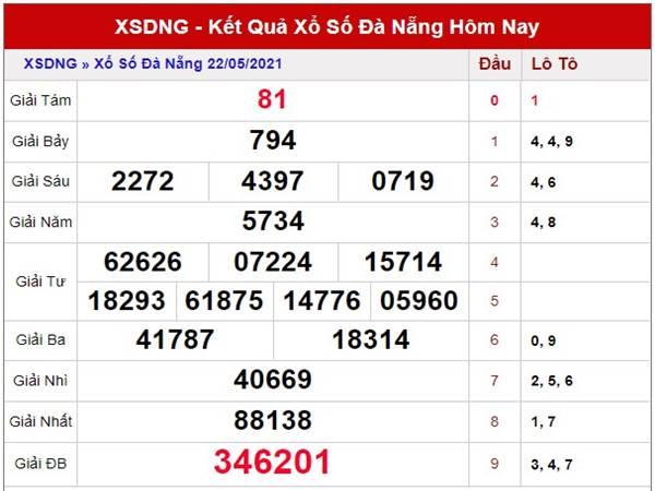 Soi cầu kết quả xổ số Đà Nẵng thứ 4 ngày 26/5/2021