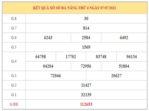 Phân tích KQXSDNG ngày 10/7/2021 dựa trên kết quả kì trước