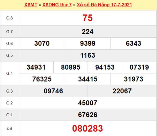 Nhận định KQXS Đà Nẵng 21/7/2021 chi tiết đầy đủ nhất