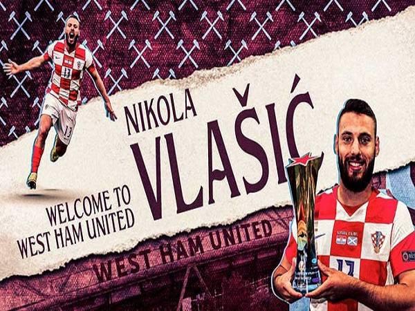 West Ham chiêu mộ Vlasic