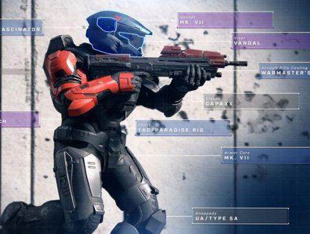 Halo Infinite Cosmetics được biết là tương tự như Apex Legends